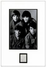 Davy Jones Autograph Signed - The Monkees